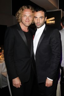 Dundas and Riccardo Tisci
