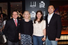 Mrs. Sabrina Fung Lam (Second Right), Mr. Kevin Lam (First Right) and guests