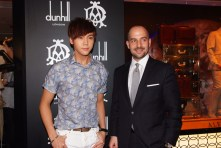 (From left) Mr. William Chan, and Mr. Robert Mancini
