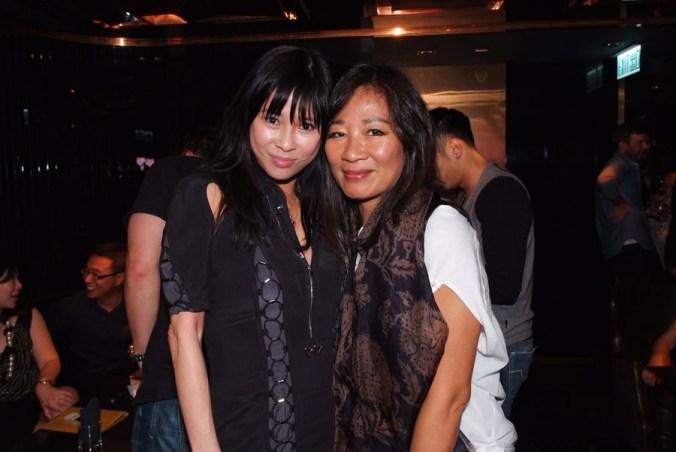 (From left) Mrs. Yvette Yuen and Mrs. Maria Rhomberg