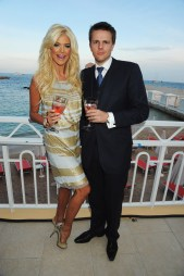Victoria Silvstedt and Jake Humphrey