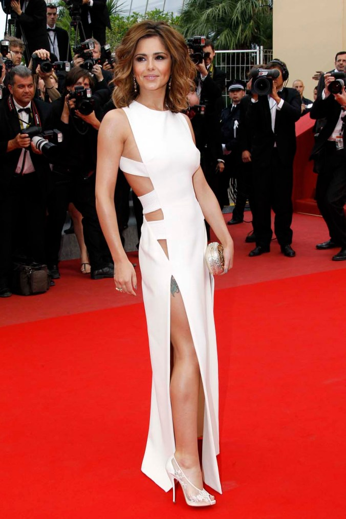 Cheryl Cole in Versace and de GRISOGONO jewellery