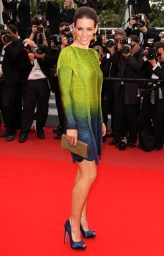 Evangeline Lilly in Emilio Pucci