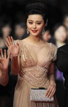 Fan Bing Bing wearing Cartier jewellery