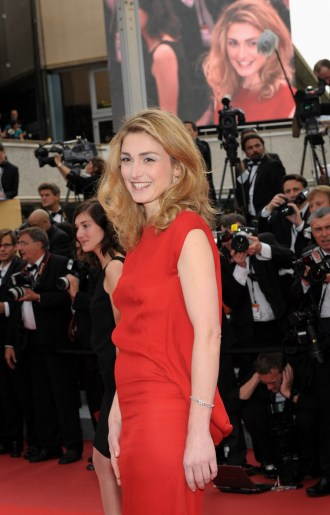 Julie Gayet wearing Jaeger-LeCoultre jewelry