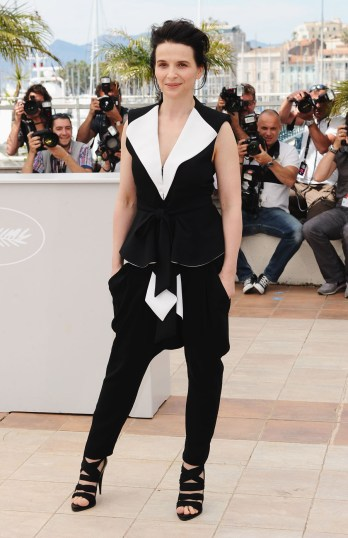 Juliette Binoche wearing Givenchy by Riccardo Tisci