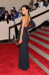 Zoe Saldana in Calvin Klein Collection
