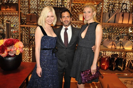 Marc Jacobs, Gwyneth Paltrow, Kirsten Dunst