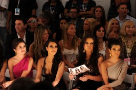 Selena Gomez, Kim Kardashian, Khloe Kardashian and Kourtney Kardashian