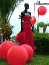 Capri - Abito di alta Moda.1 dello stilista Michele Miglionico.1