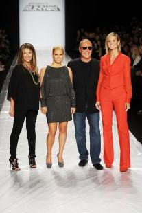 Nina Garcia, Jessica Simpson, Michael Kors and Heidi Klum