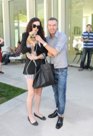 Rumer Willis and Dan Caten