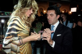 Matthieu Tarac sales director from Faberge and H.E.Dr.Gulnara Karimova