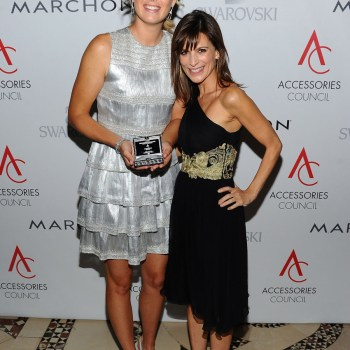 Maria Sharapova and Perrey Reeves