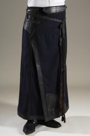 Jean Paul Gaultier Man's skirt 1987