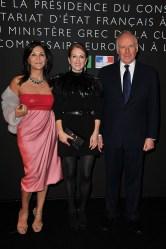 Beatrice Bulgari, Julianne Moore and Nicola Bulgari
