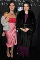 Beatrice Bulgari and Juliette Binoche