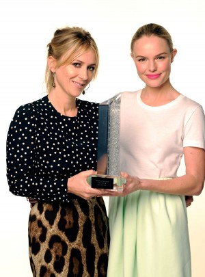 Stylist Cher Coulter (L) and actress Kate Bosworth
