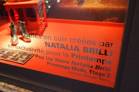 Natalia Brilli at Printemps