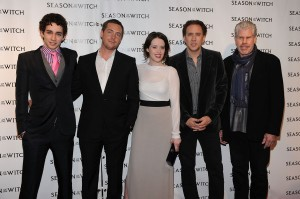 Robert Sheehan; Stephen Campbell Moore; Claire Foy; Nicolas Cage; Ron Perlman