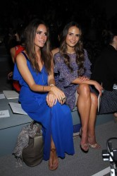 Louise Roe and Jordana Brewster