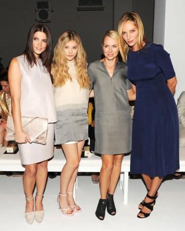 Ashley Greene, Chloe Moretz, Naomi Watts, Uma Thurman