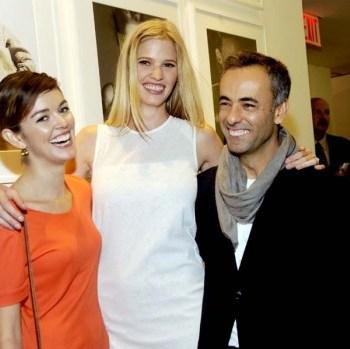 Nora Zehetner, Lara Stone and Francisco Costa