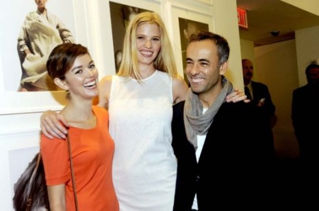 Nora Zehetner, Lara Stone and Francisco Costa