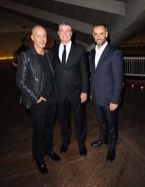 Italo Zucchelli, Tom Murry and Francisco Costa