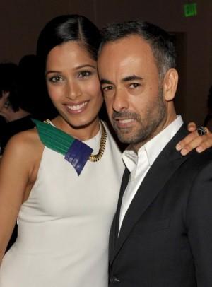 Freida Pinto and Francisco Costa