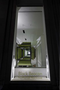 """Black Beacon"" by Nathaniel Rackowe, Madison Ave. Store"