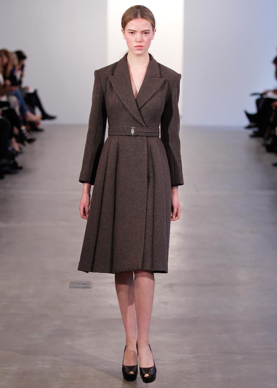 Calvin Klein Collection Pre-Fall 2012: Chic Urban ...