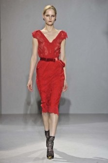 Collette Dinnigan fall winter 1213 fashion show at Paris Pret a porter