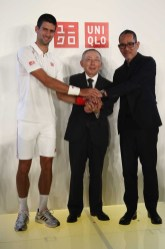 UNIQLO Presents New Global Brand Ambassador - CEO Tadashi Yanai and Novak Djokovic Host Press Conference