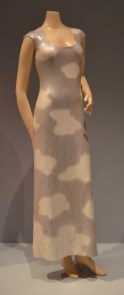 15 Halston Cloud Dress Silk Jersey Iridescent with Sequins