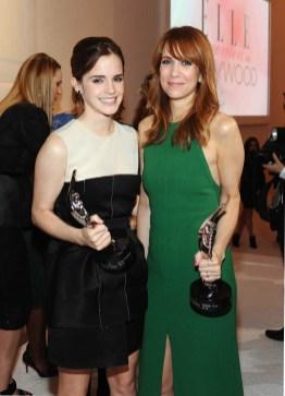 Emma Watson and Kristin Wiig