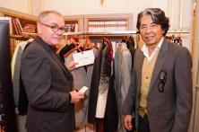 Kenzo Takada and Jean-Jacques Picart