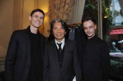 """Kenzo Takada and """"Les Garcons Paris"""""""