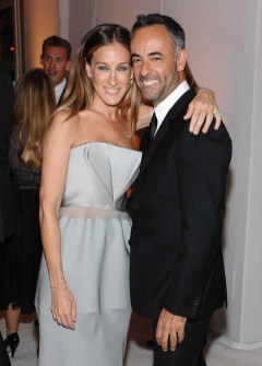 Sarah Jessica Parker and Francisco Costa