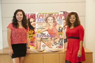 2012 Grand Prize Winners Visit Seventeen Magazine