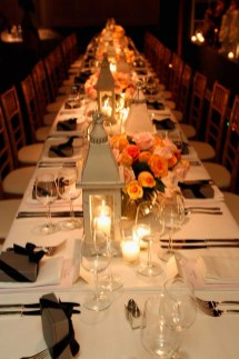 Mulberry SS13 Dinner At Chateau Marmont, LA