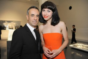 Francisco Costa and Kimbra Johnson