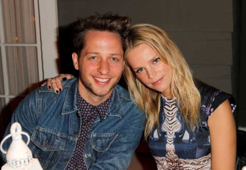 Derek Blasberg and Kelly Sawyer Patricof