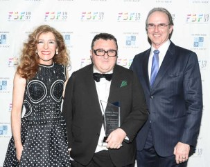 Mara Hutton, Alber Elbaz, Tom Hutton