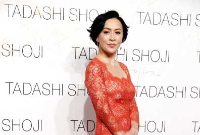 Actress Carina Lau