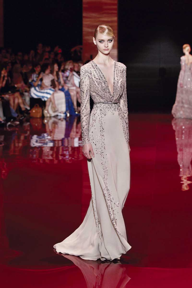 Elie saab haute couture royally yours fashionwindows for Define couture fashion