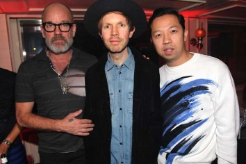 Michael Stipe, Beck and Humberto Leon