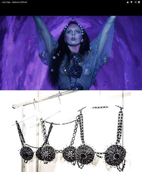 applause video by lady gaga