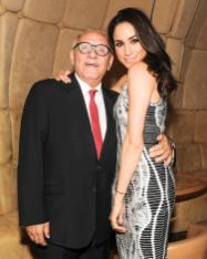 """""""Meghan Markle and Max Azria at the BCBGMAXAZRIA Runway and Herve Leger by Max Azria Spring 2014 exclusive after party"""""""