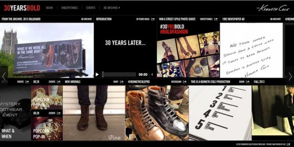 KENNETH COLE PRODUCTIONS, INC. 30YEARSBOLD